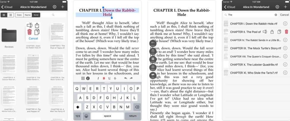 Приложение для написания книги: Just Write