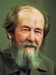 Популярные российские писатели: Александр Солженицын